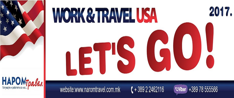 Let's Go on Work & Travel USA 2017